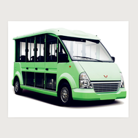 2020 new electric sightseeing bus for sale with 72V 5KW
