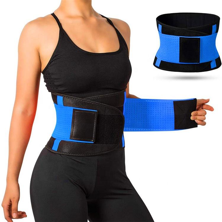 Bel giyotin kemer ayarlanabilir kilo kaybı Wrap ter egzersiz neopren bel desteği bel eğitmen geri destek kemeri