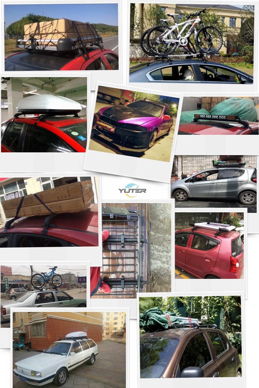 Universal high quality aluminum car roof racks cross bars