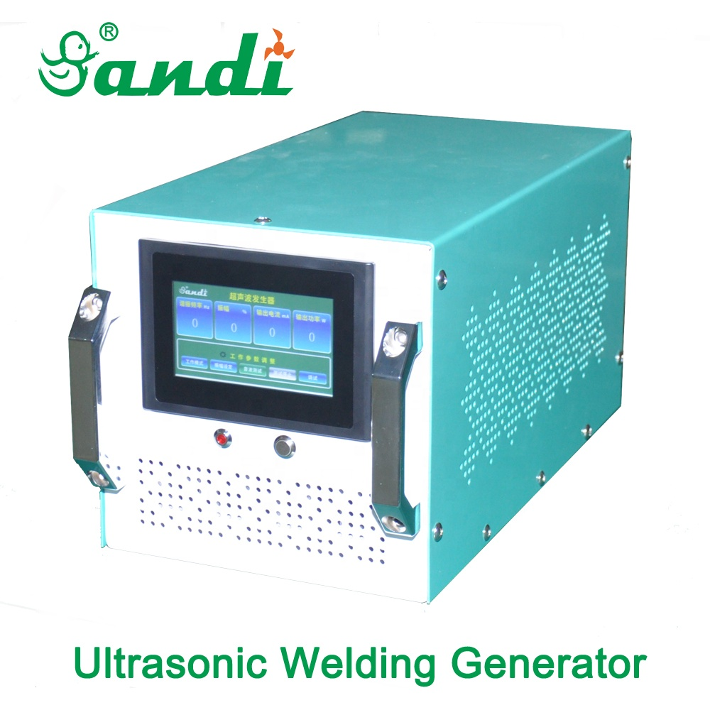 15KHZ 20Khz 3000W LCD display Ultrasonic Generator for face mask welding machine