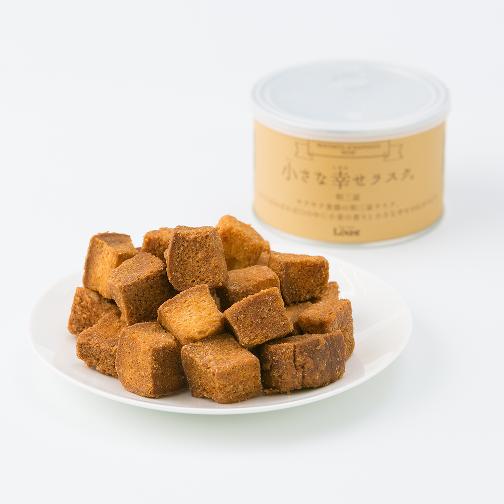 Japan Ordinary Type Sweet Dry Cake Rusk Made With Wasanbon Sugar