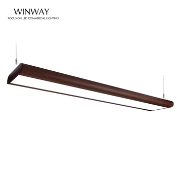 Easy Install Modern 54W Suspended Decorative Linear Light LED