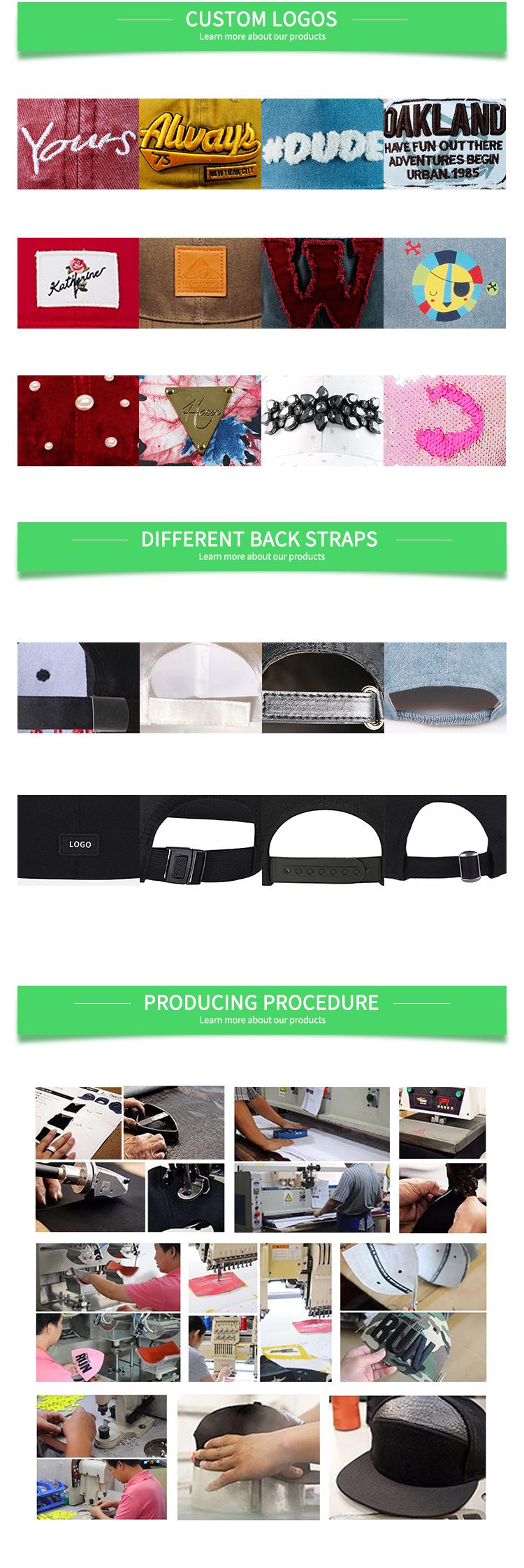 Fashion Desain Snapback Kualitas Tinggi 3D Bordir 6 Panel Bisbol Cap Topi