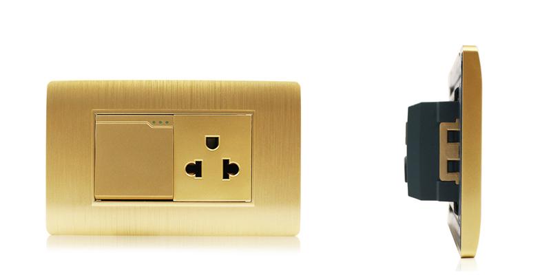Modern Gold Color 110v