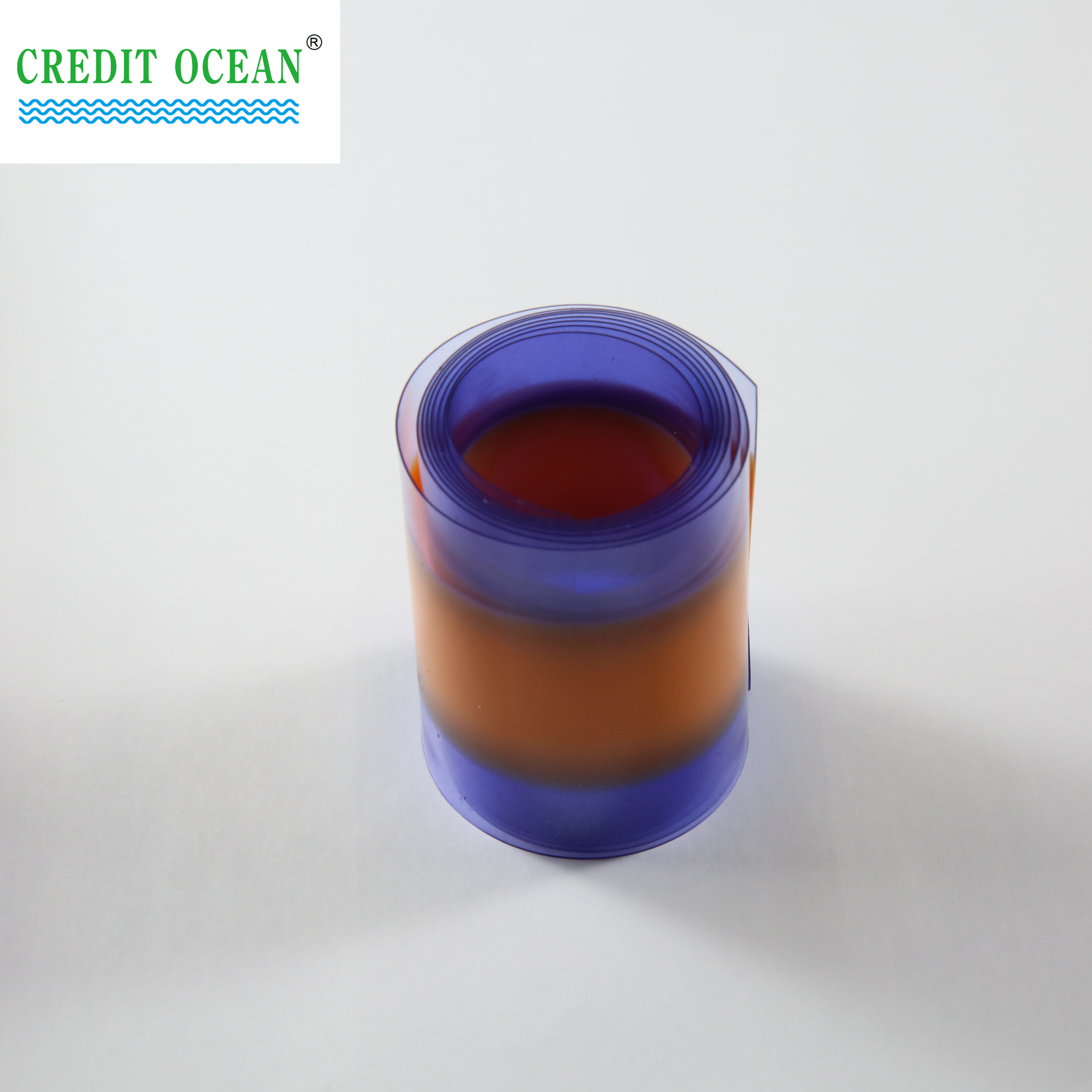 CREDIT OCEAN High Quality Eco-friendly colorful transparent acetate tipping films for shoelace