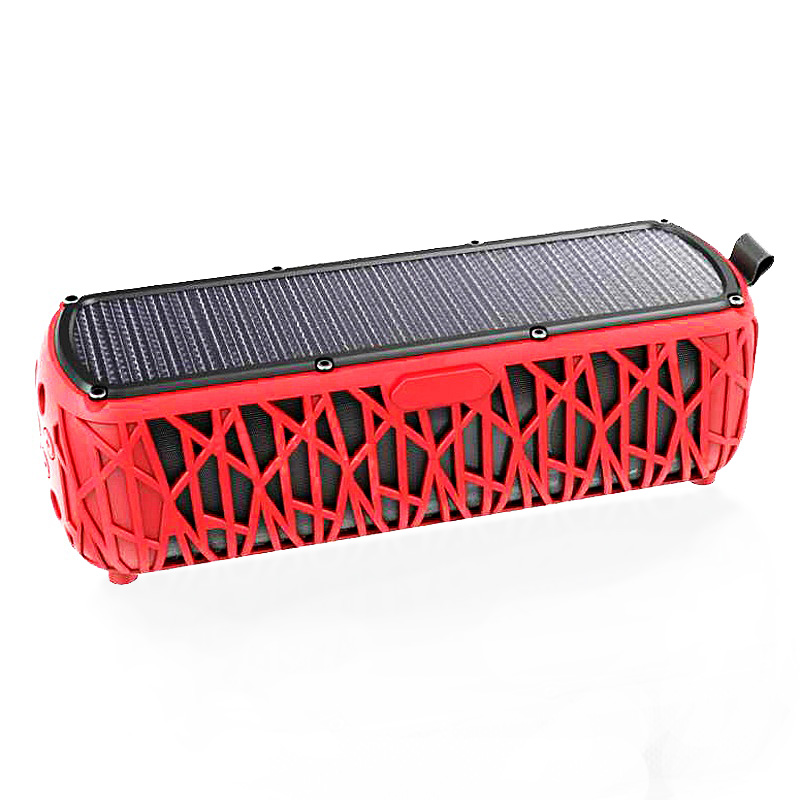 2019Laimoda Paten Produk Panas Dijual Sehingga Power Bluetooth Bank LED Outdoor Solar Portabel Tahan Air Bluetooth Speaker Nirkabel
