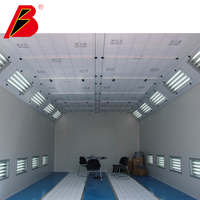 Paint booth for Australia Light box outside spray booth car repair equipment