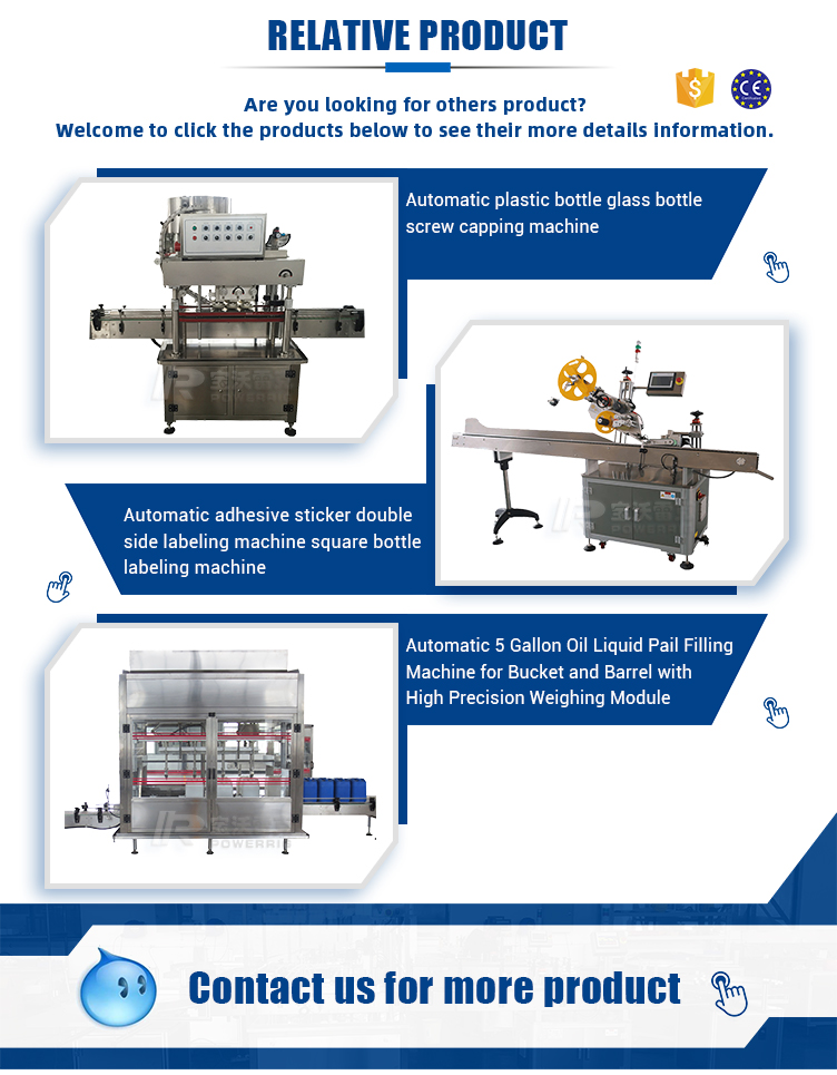 Food grade soybean oil filling machine piston filler for edible cooking oil