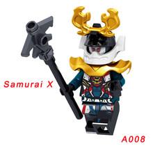 Одиночная продажа Ninja Harumi Lloyd Jay Ultra Vlolet Garmadon Skylor Kai Pythor Skalidor строительные блоки Legoingly ninjagoo для детей(Китай)