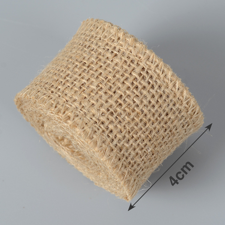 Hot-selling factory multi color jute burlap hessian cloth for construction decoration packing