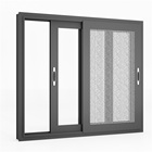 Double glazed aluminium window / sliding aluminium windows