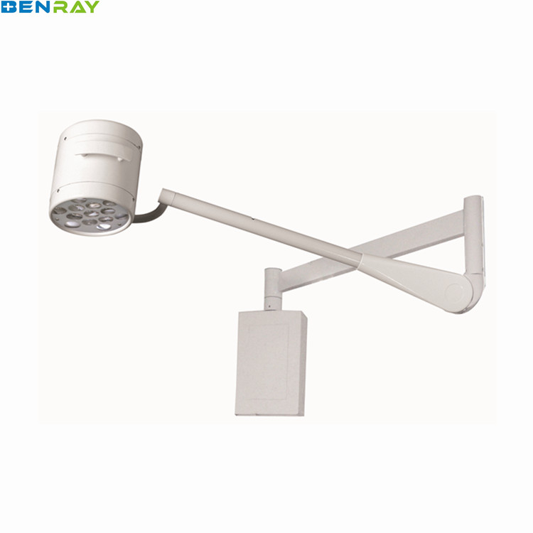 BR-LED200W Guangzhou Wall Mounted Cold LED Surgical Operated lamp Light Examination Operation Lamp OT Light Price