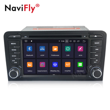 Navifly PX30 2 Din Android 9.0 IPS + DSP lettore dvd Dell'automobile per <span class=keywords><strong>Audi</strong></span> <span class=keywords><strong>A3</strong></span> 8P 2003-2012 s3 2006-2012 RS3 Sportback 2011 autotadio stereo