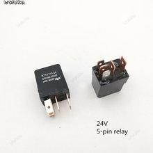 Водонепроницаемый реле автомобильный вентилятор Радиатор масляный насос 12V24V универсальные модификации 4-контактный разъем 5-контактный ра...(Китай)