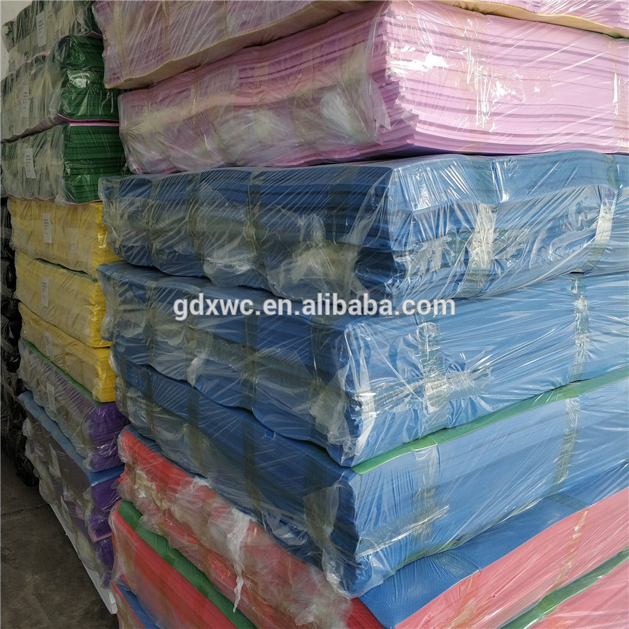 China manufacturer hot sale cheap multi color plastic large foam eva sheet