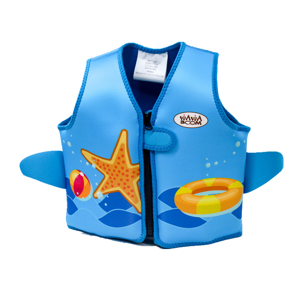 RTS New Design Swim Vest Digital Printing Frontzip Neoprene Kids <strong>Life</strong> <strong>Jacket</strong>