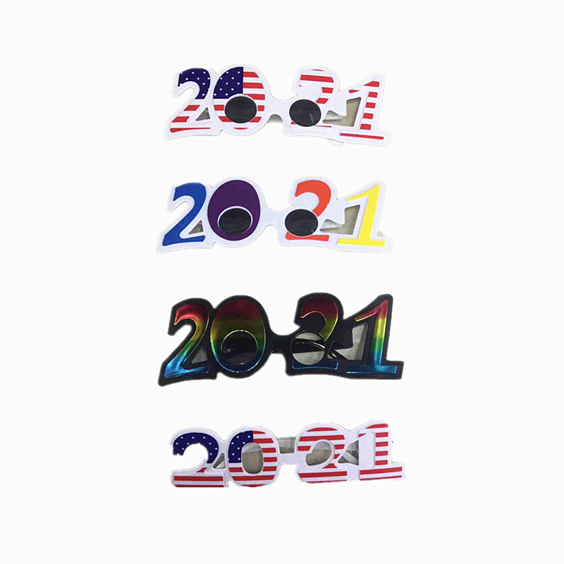 New 2021 Digital Glasses Happy New Year Glasses Party ...