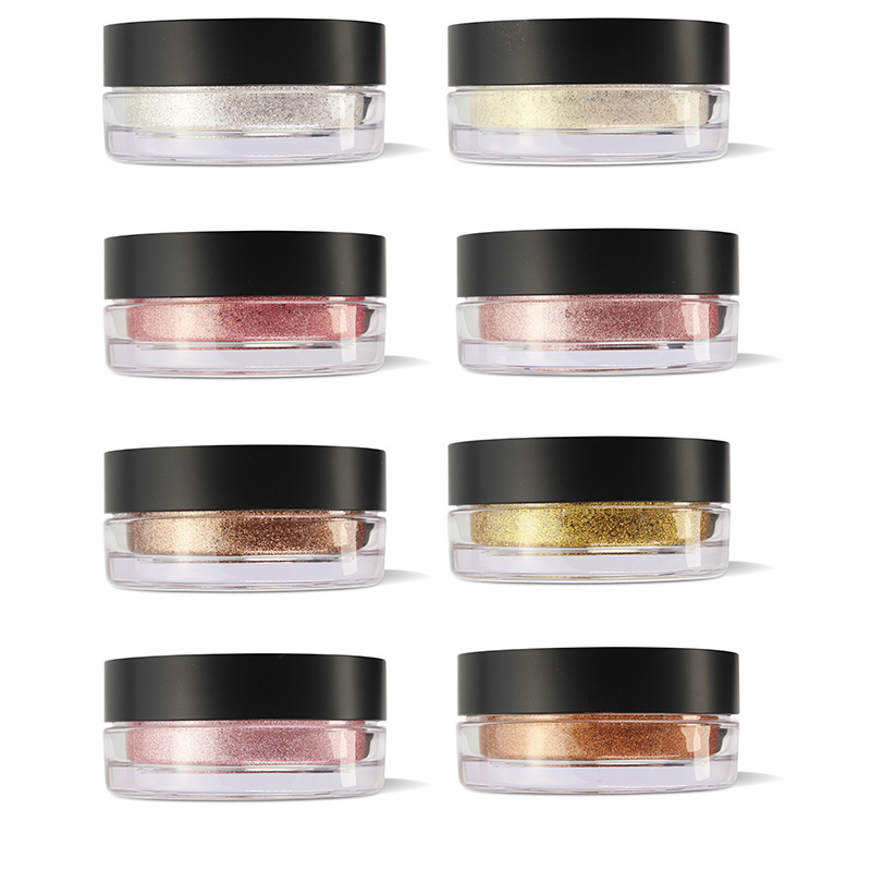 Private Label Loose highlighter Powder Pigment Glitter Face Makeup