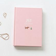 365 ежедневник, блокнот, красочная внутренняя страничка, иллюстрация, ежедневный план, дневная запись, канцелярские принадлежности жизнь, по...(Китай)