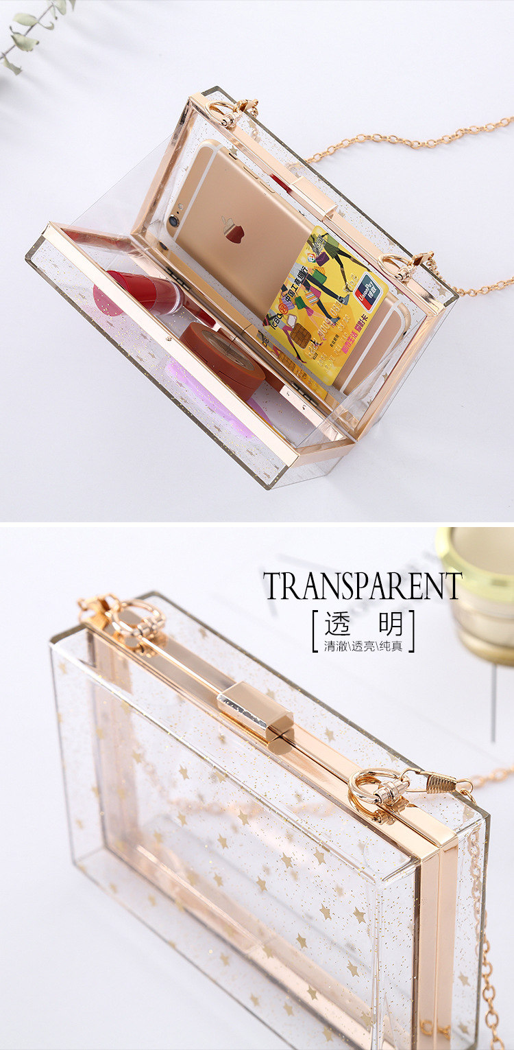 Wholesale Lunar Goddess Night Banquet Girl Pack Shoulder Pack Night Pack Acrylic Handbag