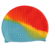 Factory Price High Quality Custom Printed Silicone Swimming Cap For Adult
