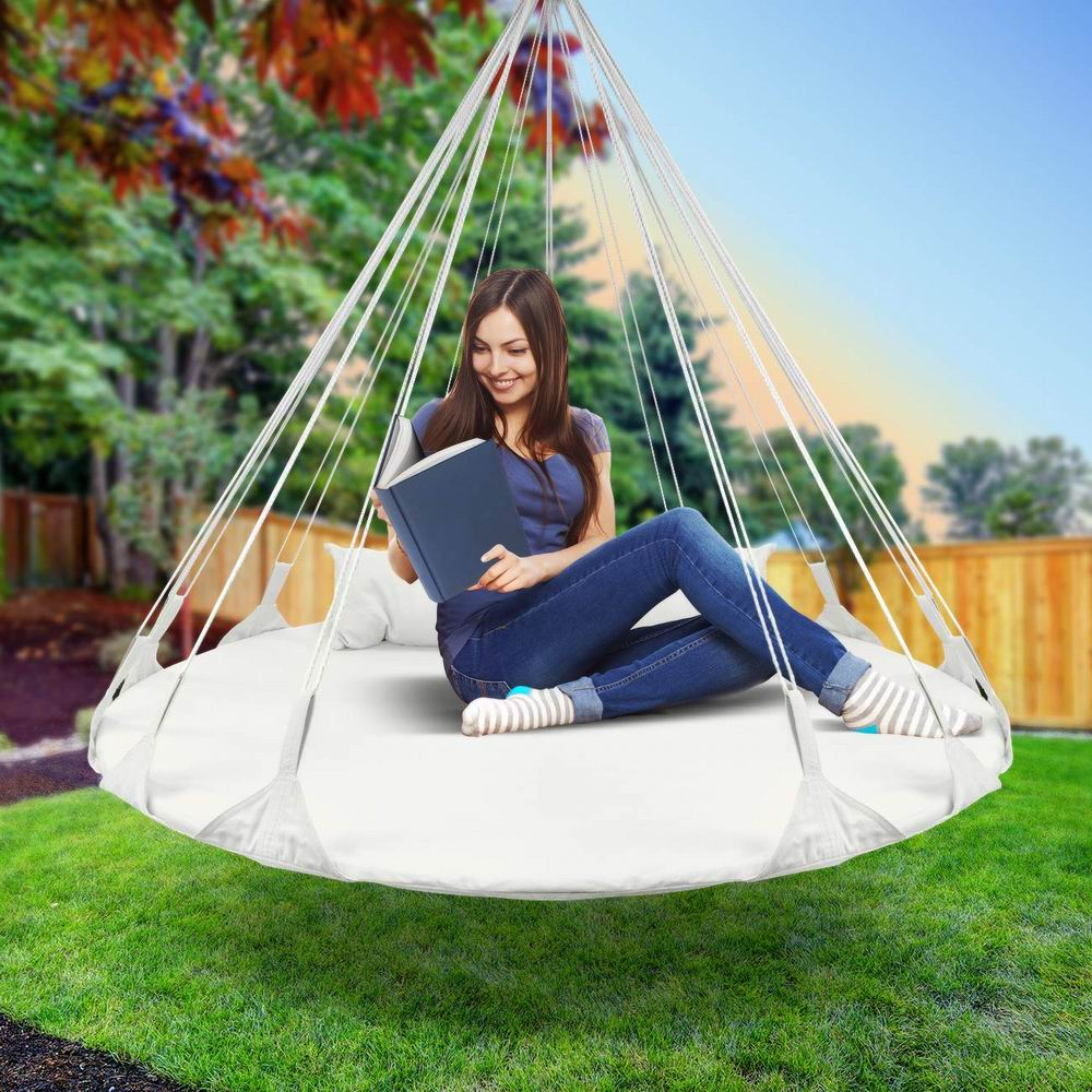 Porch Swing Pod Hanging Chair Saucer