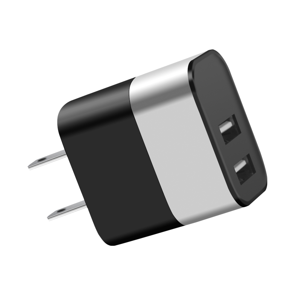 Free Shipping Fast Charger Black USB Wall Charger For iPhone Adapter Charger USB