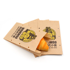 FDA certificated packaging small brown paper bags, food grade paper lunch bag crafts