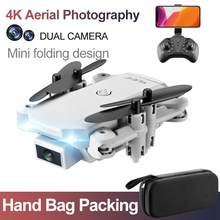 Дрон и камера видео S66 720P 4k HD Дрон WIFI FPV Летающий Квадрокоптер мини складной Дрон с подвесной сумкой(China)