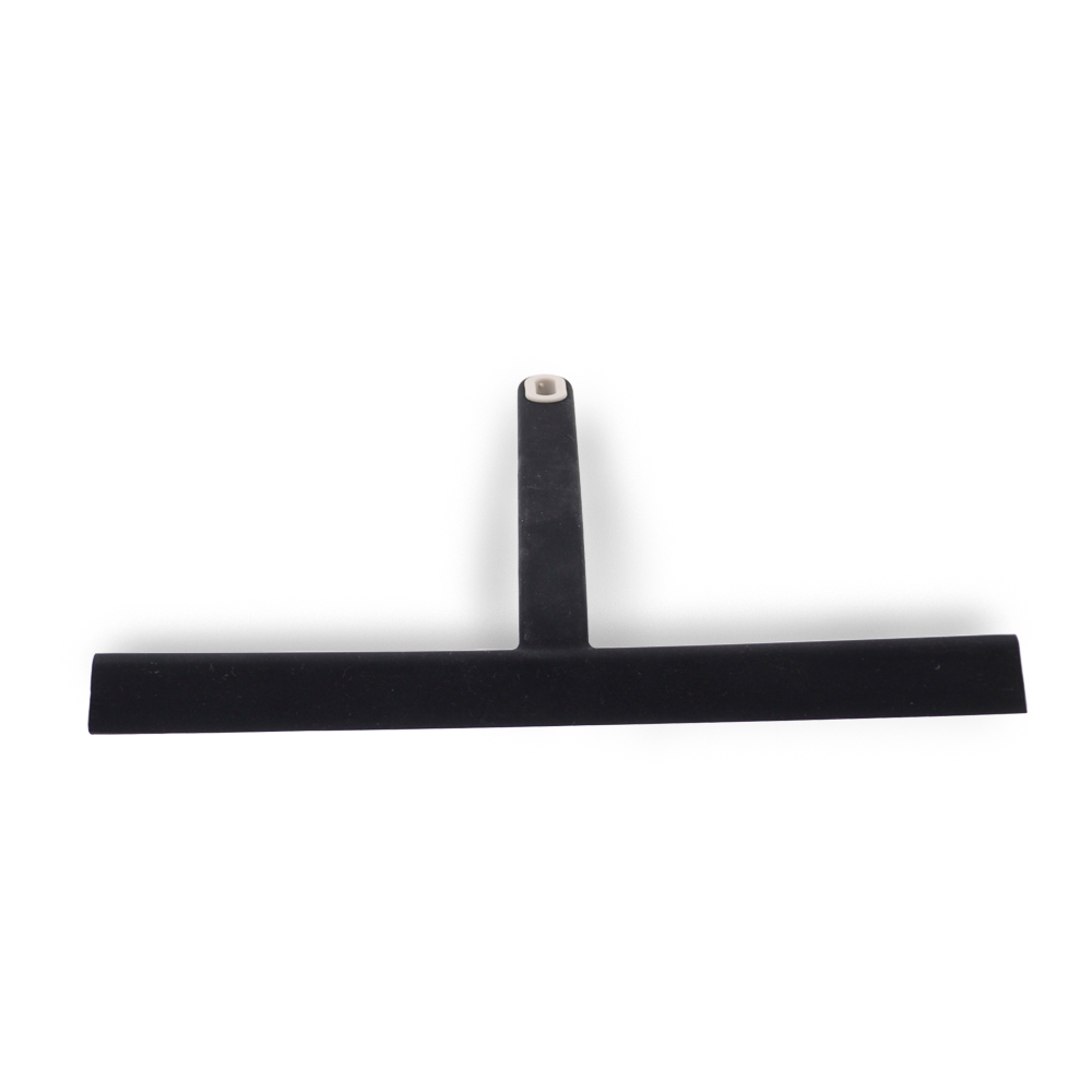 Amazon New Silicone Black/Gray Shower Squeegee Window clean wiper with Hook for Window Glass Mirror