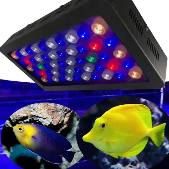 2020 新着 165 ワットフルスペクトラム 24 インチ水族館led照明スマート制御プログラマブル水族館ledライト