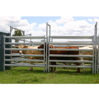 Economy portable stockyard cattle gate pasture fence panels
