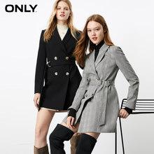 Только осенне-зимний женский тонкий костюм средней длины куртка | 119308542(Китай)
