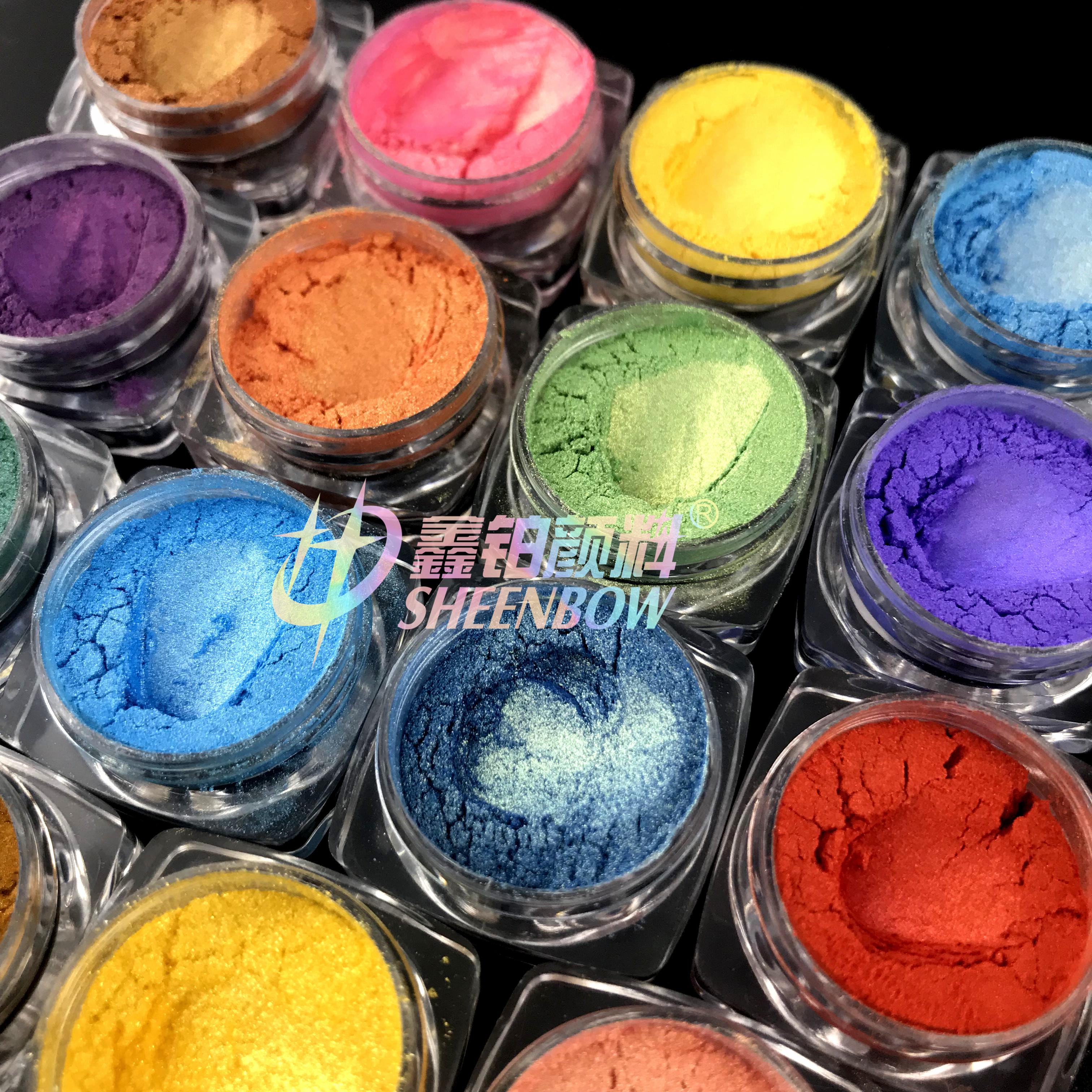 Sheenbow Mica Cosmetic Pigment Metallic Pearl Epoxy Resin Powder