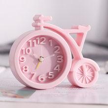 Маленькие милые Смарт-часы с будильником и ЖК-дисплеем, настольные часы, настольные часы для спальни, детская комната, домашний декор AD50AC(Китай)