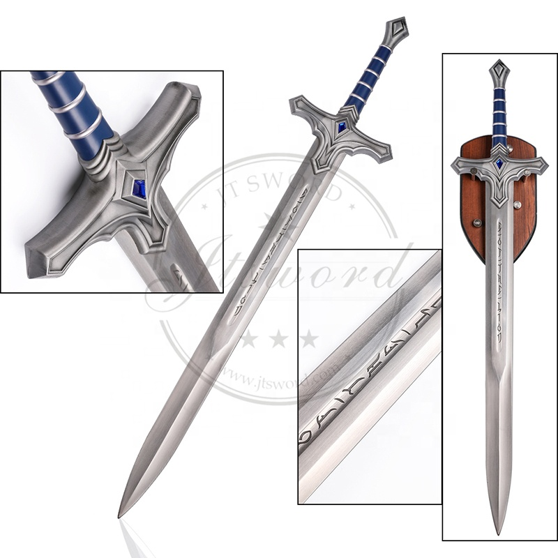 1 1 Movie Warcraft Cosplay Stainless Steel Sword Buy Warcraft