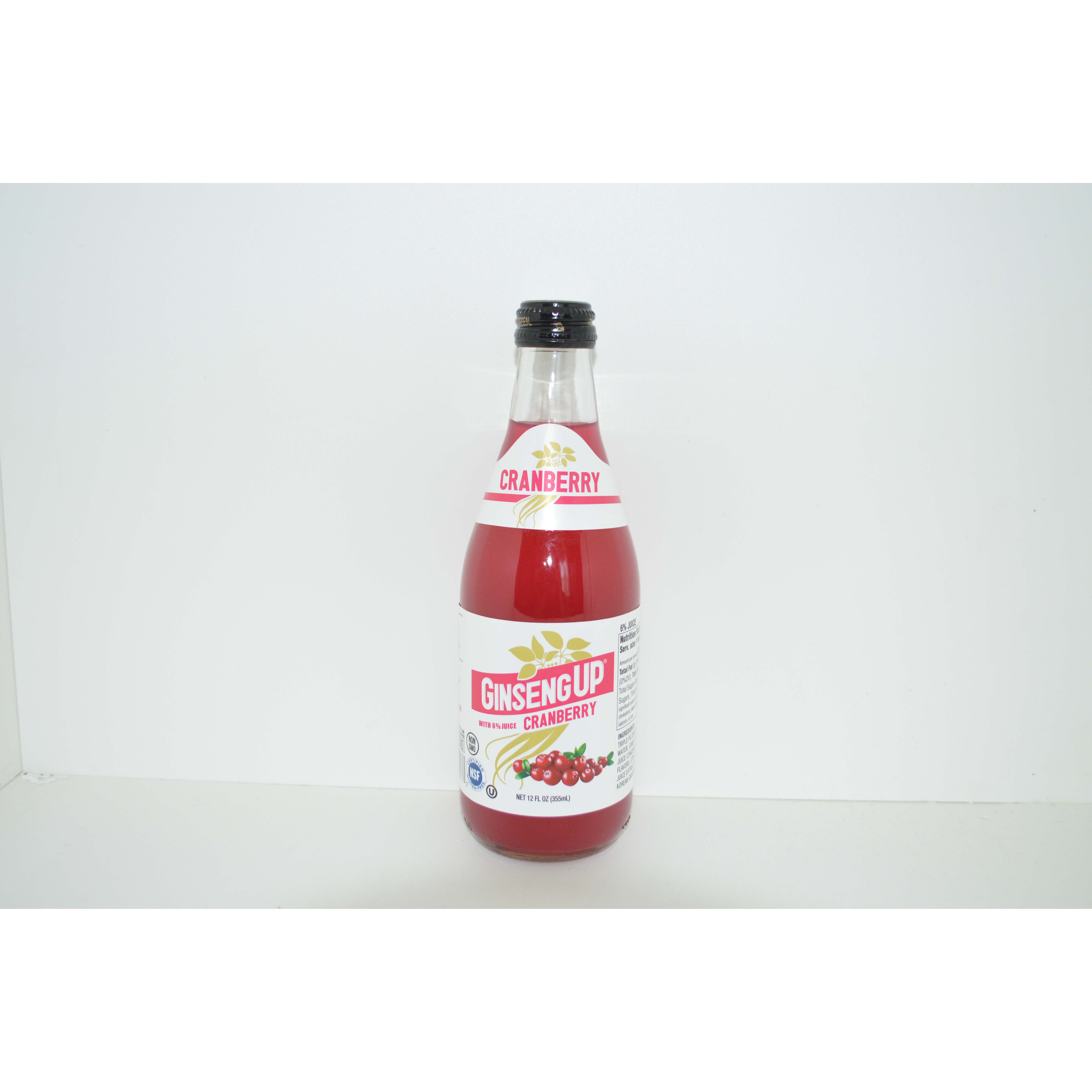 Natural Beverage Natural Soft Drink Cranberry With Ginseng On Sale