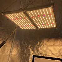 Newest quantum 240w board v4 lm301H with UV IR switch led grow light from KINGBRITE with separate heatsink for small tent