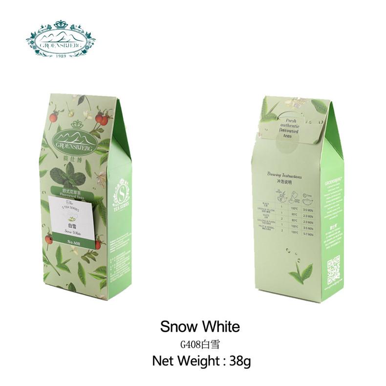 tea drink mix chinese white tea refreshing lemongrass aromatic jasmine blossoms loose tea fresh authentic flavour - 4uTea | 4uTea.com