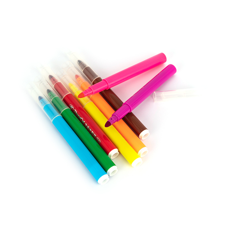 2020 Washable Jumbo Tip Markers 12 water color pen stationery set