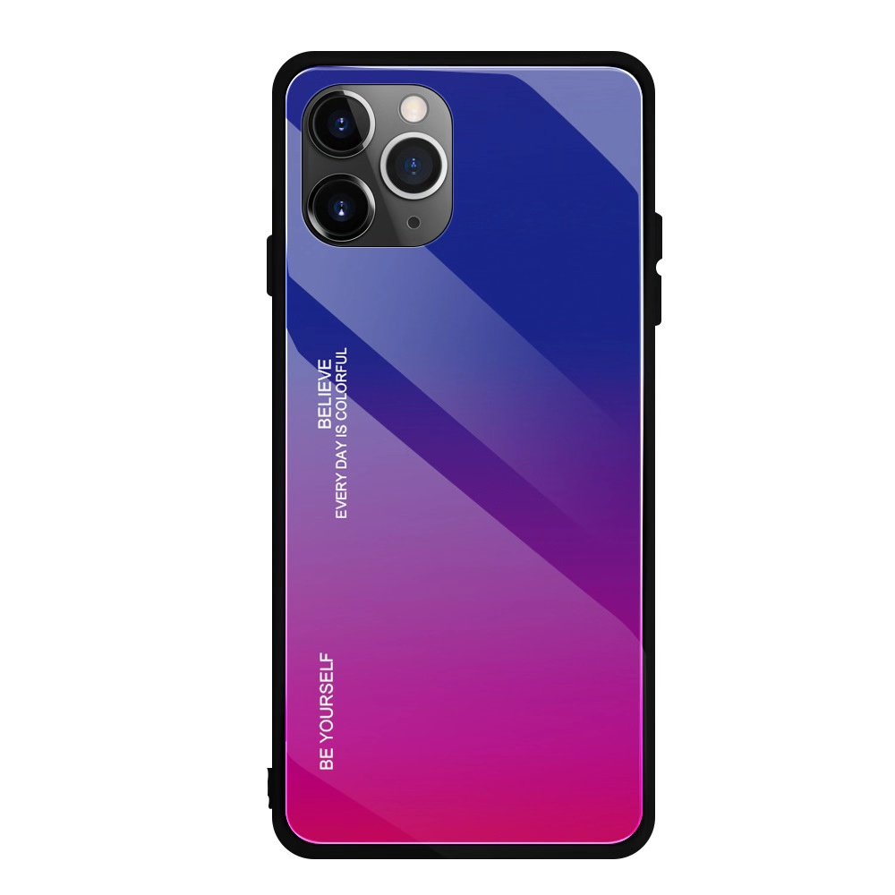New arrival gradient tempered glass mobile phone case cover for iPhone 11 Pro <strong>Max</strong> 2019