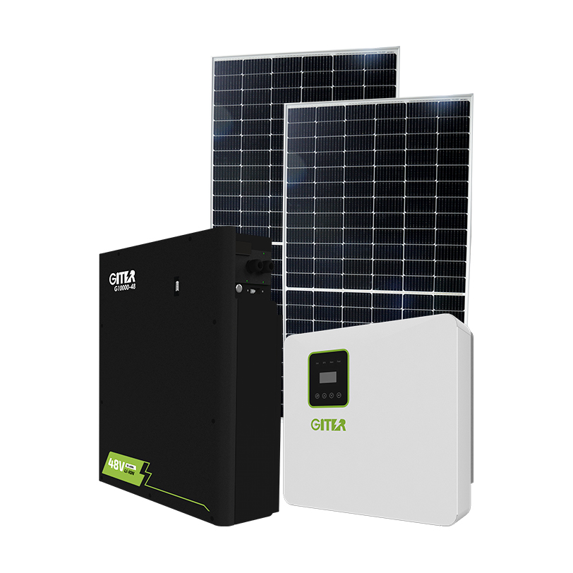 Household Kit Fotovoltaico 5kw kva Solar Power Solar Energy System