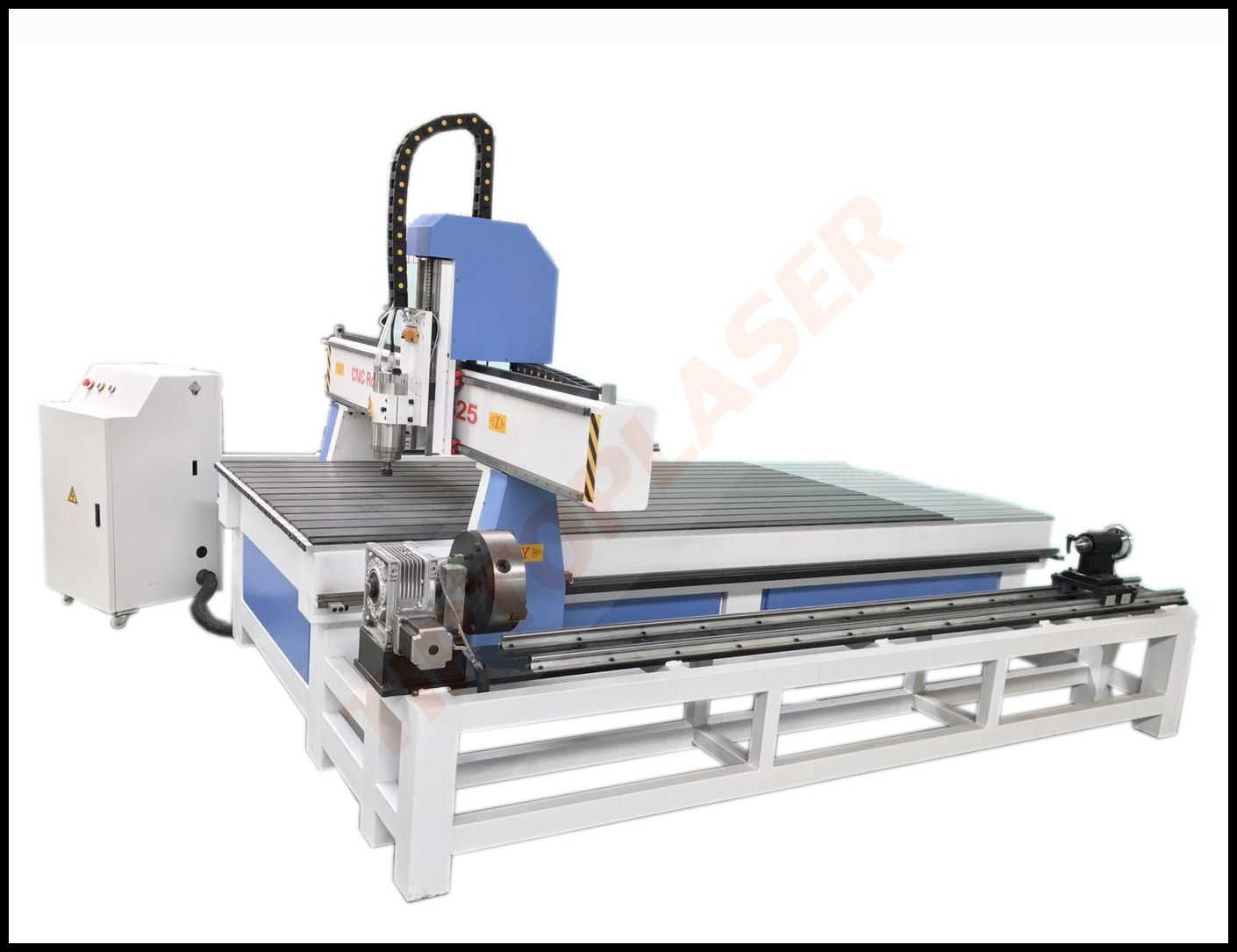 Furniture China NC-studio Controller CNC Wood Router 1325 With Rotary axis For Wood MDF Acrylic PCB