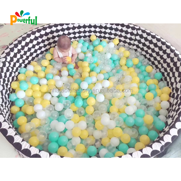 Colorful Eco-Friendl Indoor soft pit ball,plastic ocean ball pit soft play balls