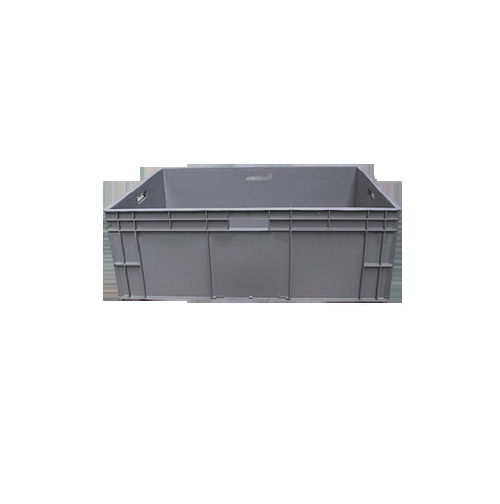 1200*400*450mm थोक सस्ते पीपी यूरोपीय संघ के मानक परिवहन प्लास्टिक बॉक्स