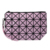 Wholesale Women Small Make Up Bag Cute Cosmetics Bag PU Lattice type cosmetic bag for Ladies