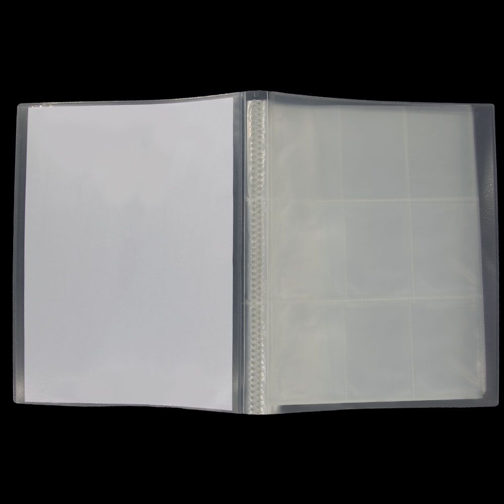 PP Trading Card Album Folder Card Holder  Trading Card Sleeves Storages For Business,Baseball and Sport Cards