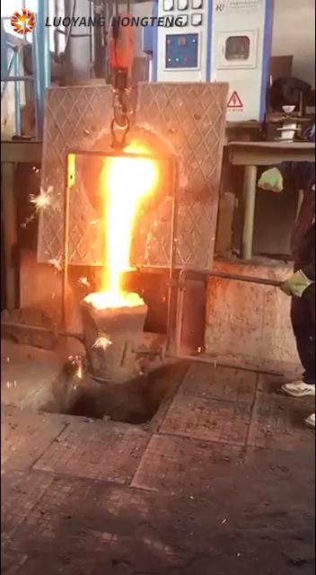 स्टील स्मेल्टर बिजली के लोहे भट्ठी धातु पिघलने भट्टियां के लिए बिक्री
