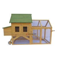 Large mobile wooden pigeon coops chicken house designs with wheels