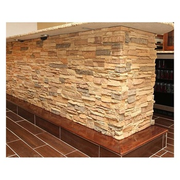 Lightweight white brick wall tile/white brick veneer/white faux brick wall panels culture stone for countertop